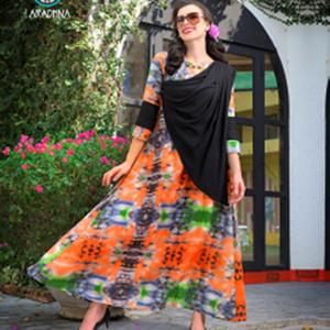 Aradhna Gown Kurtis – Pattern 4