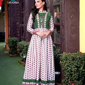 Aradhna Gown Kurtis – Pattern 7