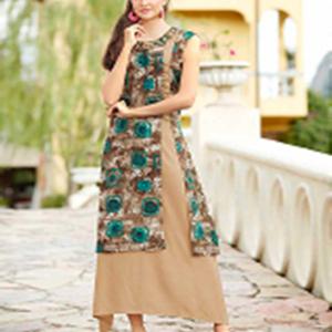 Rani Trendz Surat Gown Kurtis Style Two