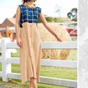 Rani Trendz Surat Gown Kurtis Style Three