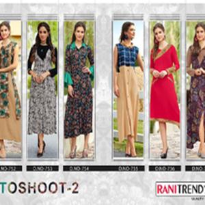 Rani Trendz Surat Gown Kurtis Style Four