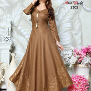 Miss World Gown Kurtis Collection One