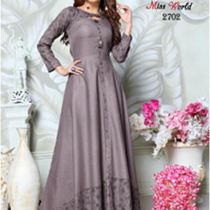 Miss World Gown Kurtis Collection Four