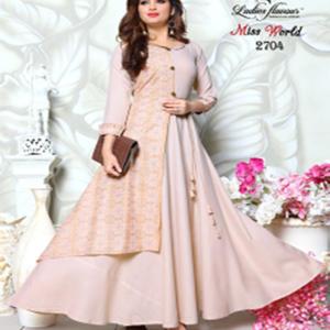 Miss World Gown Kurtis Collection Seven
