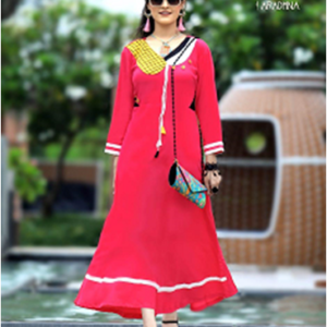 Crackers Gown Kurtis Style Five