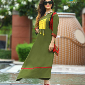 Crackers Gown Kurtis Style Seven
